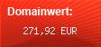 Domainbewertung - Domain www.handy-netz24.de bei domainwert1.de
