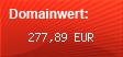 Domainbewertung - Domain pixel-spot.eu bei domainwert1.de