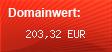 Domainbewertung - Domain www.rauch-wolfgang.de bei domainwert1.de