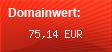 Domainbewertung - Domain www.wasser-leckage.de bei domainwert1.de