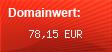 Domainbewertung - Domain michael.outletsale24.de bei domainwert1.de
