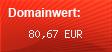 Domainbewertung - Domain www.fotograf-bamberg.de bei domainwert1.de