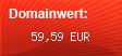 Domainbewertung - Domain www.discofox-live.de bei domainwert1.de